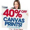 40% Off Canvas Prints for February at Camera House!