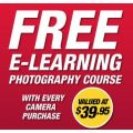 Free Photography Course with every Camera Purchase at Camera House!