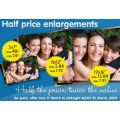 bigwphotos.com.au's Half Price Photo Enlargements